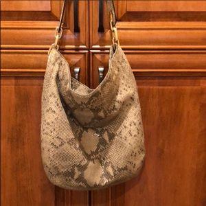 Michael Kors  Snakeskin Hobo Bag